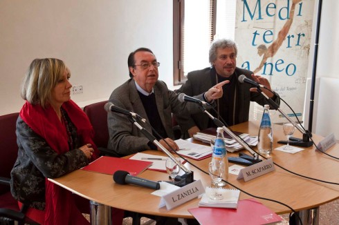 Luana Zanella, Maurizio Scaparro e Giuseppe Emiliani. Foto di Fabio Bortot,Alvise Nicoletti