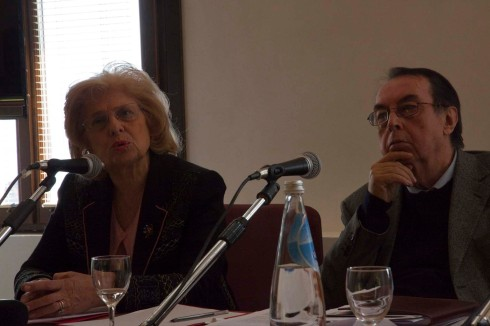 Anna Maria Giannuzzi Miraglia e Maurizio Scaparro. Foto di Fabio Bortot,Alvise Nicoletti