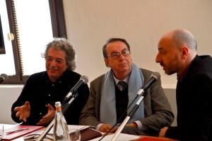 Roberto Cuppone, Maurizio Scaparro e Michele Modesto Casarin; foto di Alvise Nicoletti, Fabio Bortot