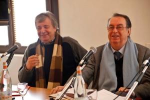 Marco Parodi e Maurizio Scaparro; foto di Alvise Nicoletti e Fabio Bortot