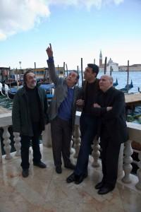 Massimo Munaro, Maurizio Scaparro, Francesco Siciliano, Orlando Forioso; foto di Fabio Bortot, Alvise Nicoletti