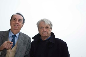 Maurizio Scaparro e Pedrag Matvejević, foto di Fabio Bortot, Alvise Nicoletti