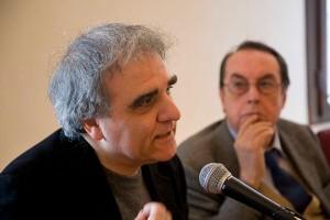 Antonino Varvarà e Maurizio Scaparro, foto di Fabio Bortot, Alvise Nicoletti